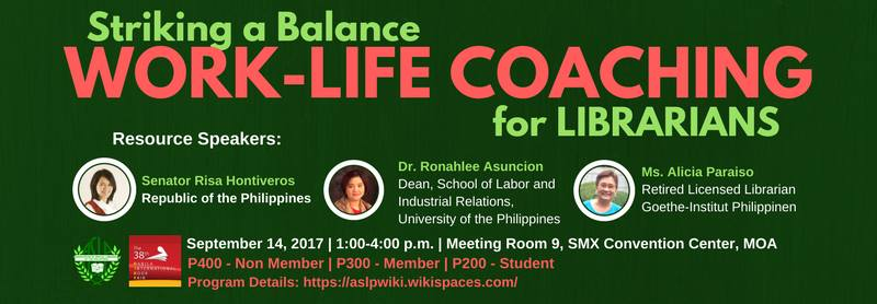 Striking a Balance: Work-Life Coaching for Librarians